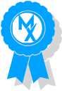 movementx ribbon graphic representing award winning quality in physical therapy in Arltington, VA