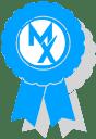 movementx ribbon graphic representing award winning quality in physical therapy in Arltington, VA