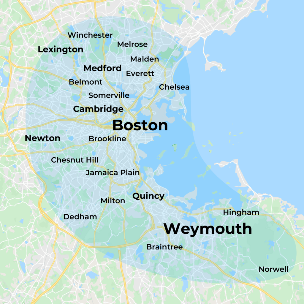 Map of MovementX Physical Therapy in Boston, MA